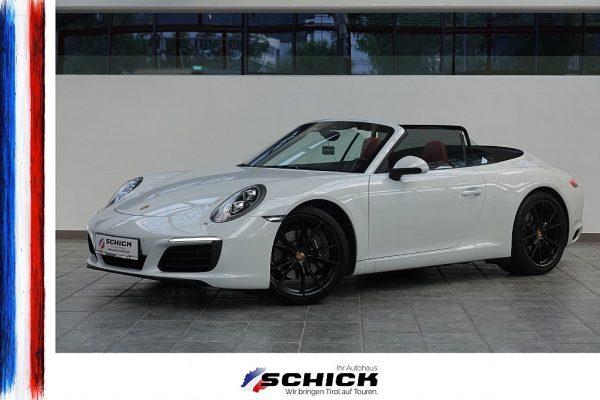 Porsche 911 Carrera Cabrio 991.2 bei autohaus schick in