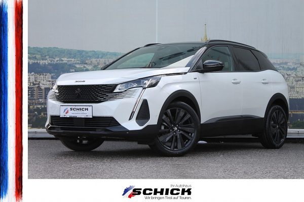 Peugeot 3008 GT PT130 EAT8 BLACK PACK *neues Modell* bei autohaus schick in