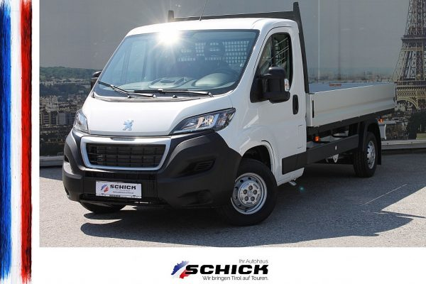 Peugeot Boxer Pritsche L3 35 BHDi 140 bei autohaus schick in