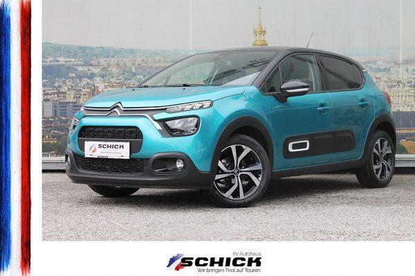 Citroën C3 Shine BHDi100 bei autohaus schick in