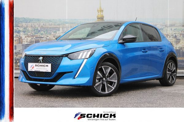 Peugeot e-208 GT Pack bei autohaus schick in
